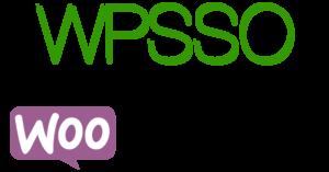 WPSSO + WooCommerce logos.
